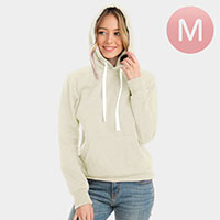Ivory Hoodies Sweater