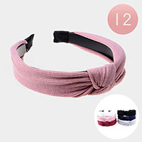 12PCS - Fabric Knot Headbands
