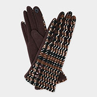 Houndtooth Knit 