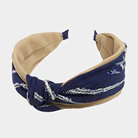 Knotted Abstract Headband