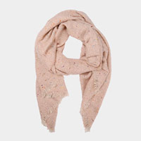 Speckled Knit Scarf