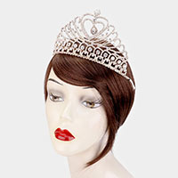 Heart Accented Pageant Queen Tiara