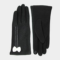 Two Tone Ribbon Smart Glove