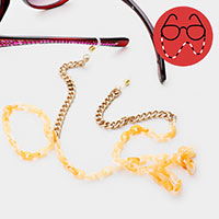 Celluloid Acetate Chain Glasses Chain
