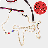 Colorful Evil Eye Glasses Chain