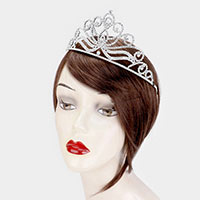 Crystal Pave Pageant Princess Tiara