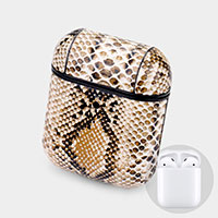 Snake Pattern Airpod Case / Key Chain