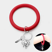 Elephant Silicon Key Ring /Bracelet