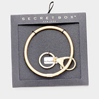 Secret Box _  Key Ring Bracelet