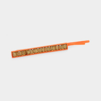 Baguette Cut Colorful Bobby Pin