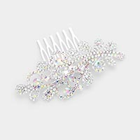 Rhinestone Sprout Vine Hair Comb