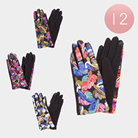 12PCS - Colorful Pattern Smart Gloves