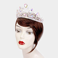 Teardrop Crystal Pageant Princess Tiara