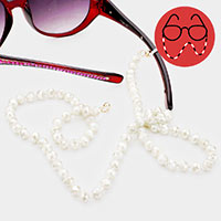 Crystal Bead Glasses Chain