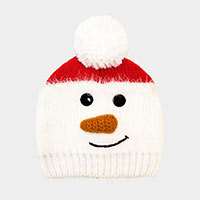 Holiday Yarn Pom Beanie Hat