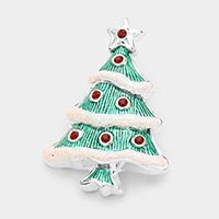 Christmas Tree Pin Brooch /Pendant