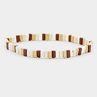 Color Block Lego Stretch Bracelet