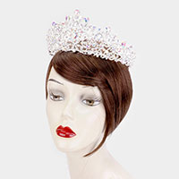 Teardrop Crystal Rhinestone Pageant Princess Tiara