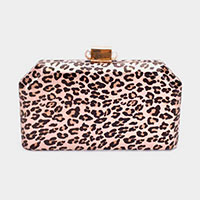 Leopard Print Evening Clutch / Handbag