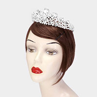 Teardrop Crystal Princess Tiara