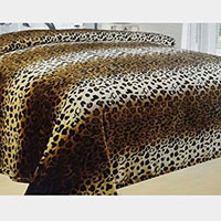 Leopard Patterned Blanket
