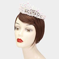 Marquise Teardrop Crystal Vine Pageant Princess Tiara