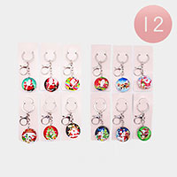12PCS - Christmas Key Chains