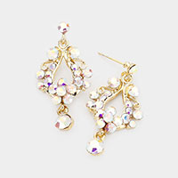 Genuine Austrian Crystal Chandelier Earrings