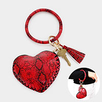 Snake Patterned Key Ring / Bracelet / Pouch Bag
