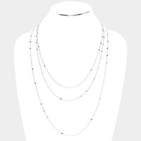 Star Long Metal Necklace