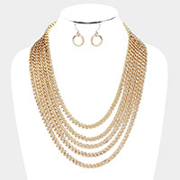 Chain Multi Layered Necklace