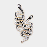 Snake Pattern Earrings