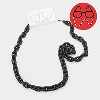 Resin Chain Link Glasses Chain