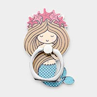 Mermaid Self Adhesive Charm For Phone Grips
