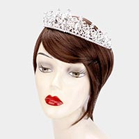 Marquise Crystal Rhinestone Pageant Princess Tiara