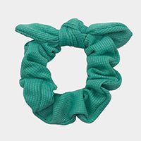Solid Bow Scrunchies Hair Band