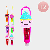 12PCS - Lip Gloss Colorful Silicone Cute Cup Cake Holders