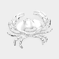 Crab Metal Pendant / Pin Brooch