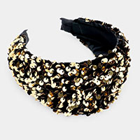 Embellished Sequin Headband