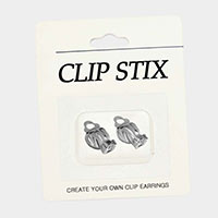 Clip On Earring Backs / Clip Stix