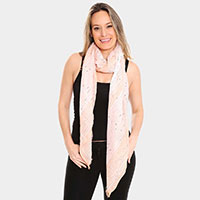 Vertical Striped Oblong Scarf
