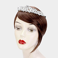 Teardrop Marquise Crystal Princess Tiara