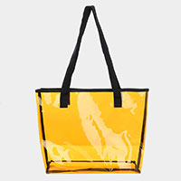 Clear Tote Beach Bag
