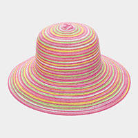 Colorful Straw Summer Sun Hat