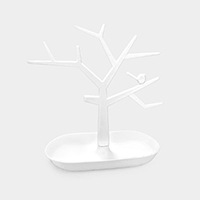 Tree Shape Jewelry Display Stand Rack