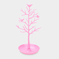 Bird Tree Jewelry Holder Display Stand