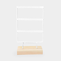 3 Row Earrings Display Stand Rack