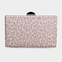 Leopard Evening Clutch Bag