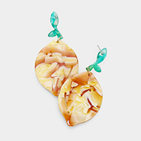 Celluloid Acetate Fruits Earrings