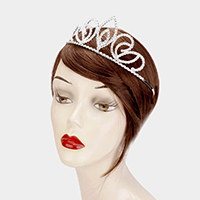 Crystal Rhinestone Pageant Princess Tiara